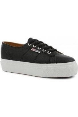 2790 NAPPA LEA BLACK WHITE - SUPERGA