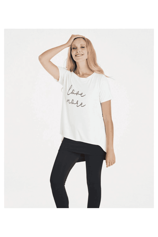 A Postcard From Brighton Love More slogan tee