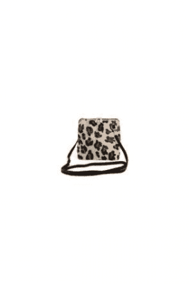 Animal Print Leather Bag