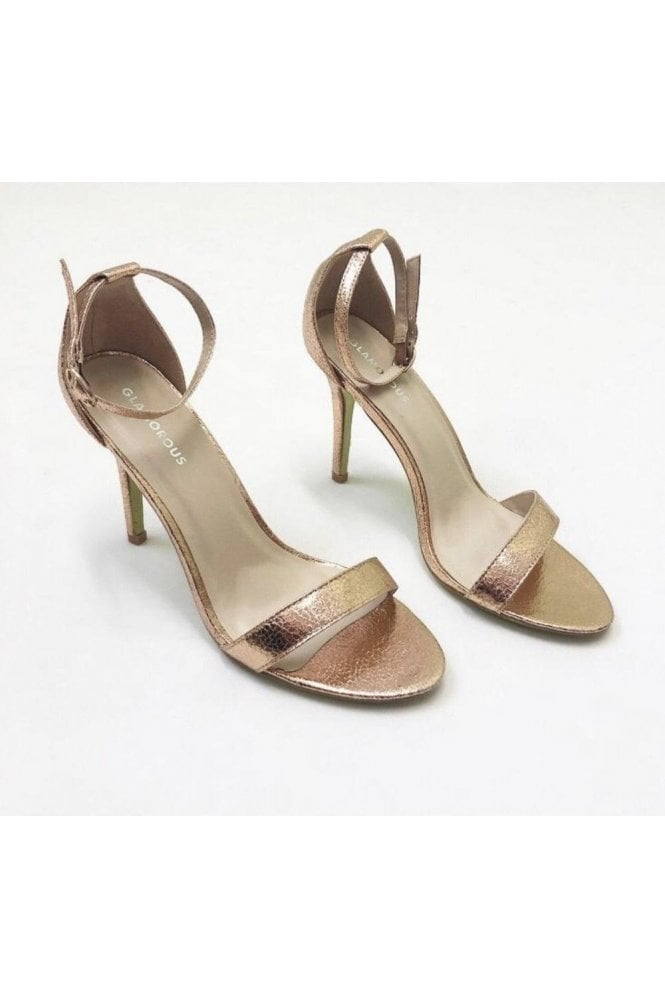 Barely Strap Heeled Sandals