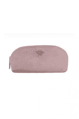 Bee Velvet Embossed Small Make up Bag