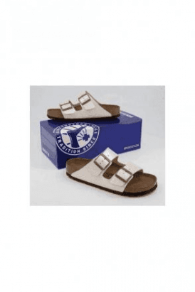 BIRKENSTOCK Arizona BF Graceful Pearl White