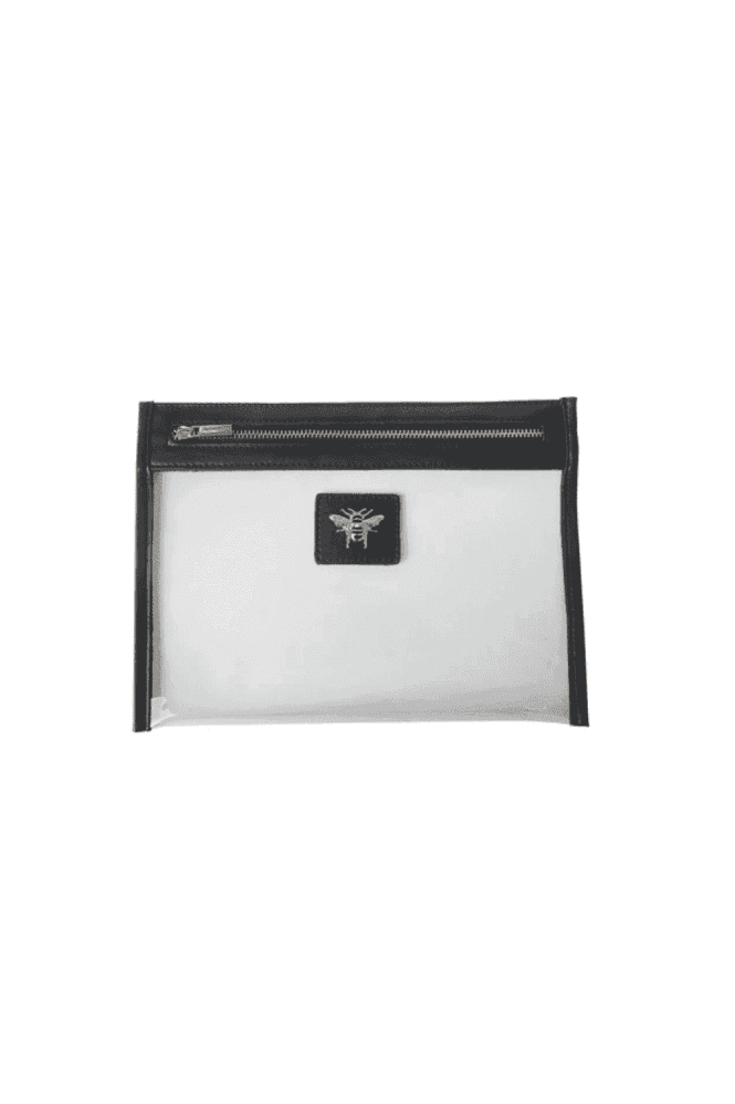 Black Beauty/Travel clear pouch