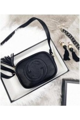 Black GG SOHO BAG