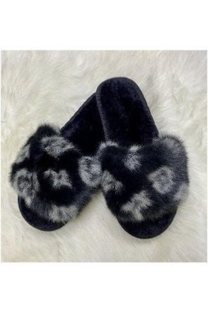 BLACK SALE Designer Inspired Slippers