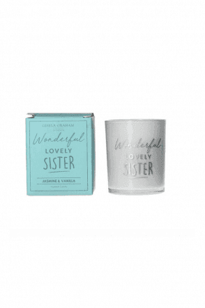 Boxed Sentiment Votive Candle - Sister