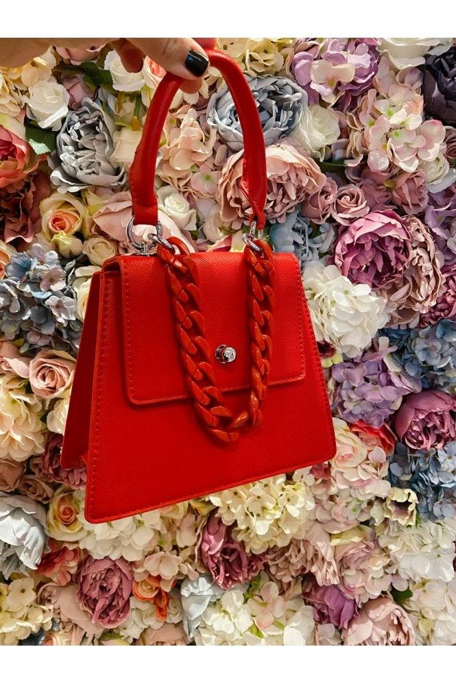 Britney Box Bag Red