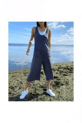CHALK Bev Jumpsuit Charcoal