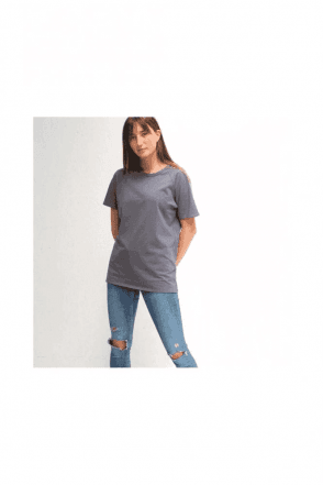 CHALK Darcey T-Shirt | Charcoal