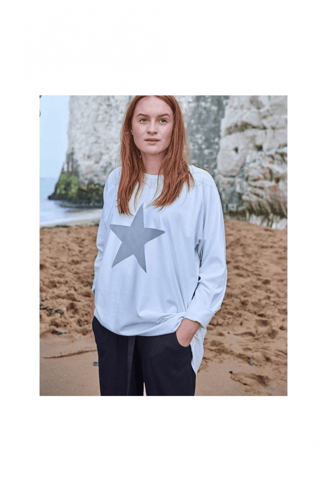 CHALK Silver Star Robyn Top