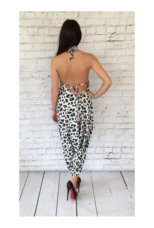 6342979be8f5 Dancing Leopard Genie Print Jumpsuit - Dancing Leopard from Ruby Room UK