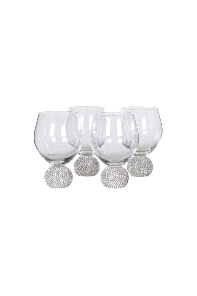 Diamante Dining Glasses - Set of 4