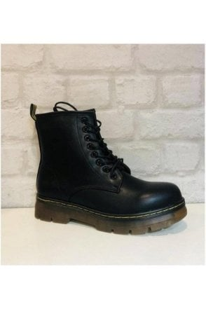 DOC MARTENS INSPIRED BOOTS