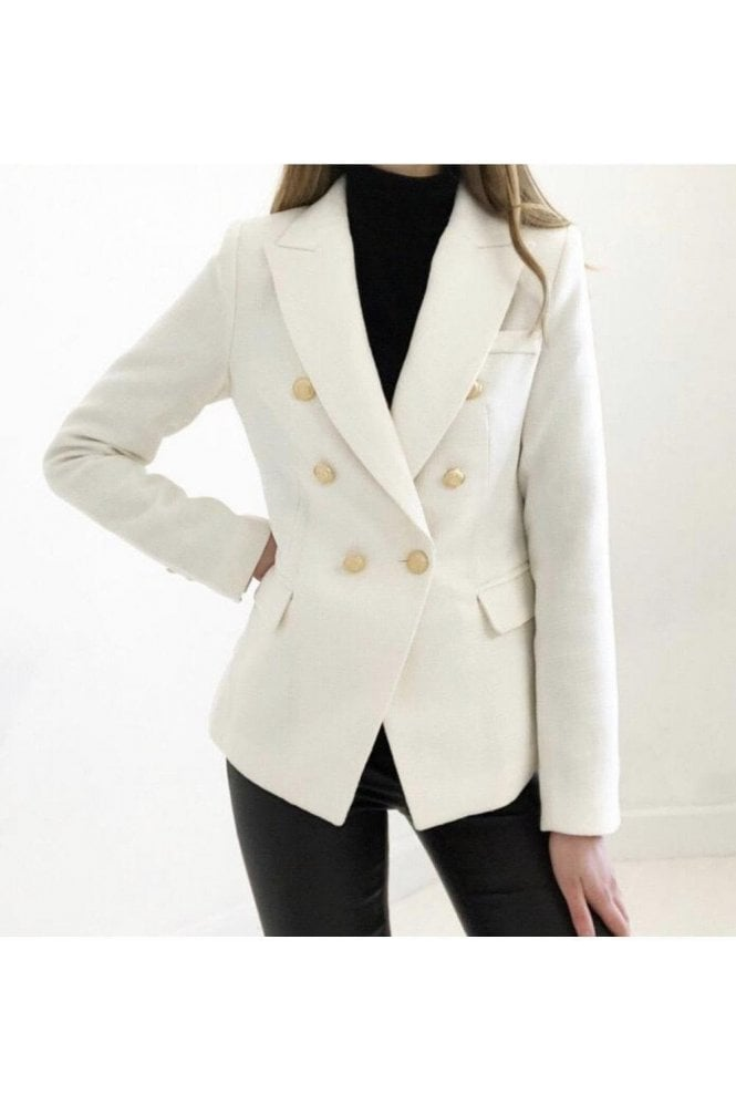 Double-Breast Blazer