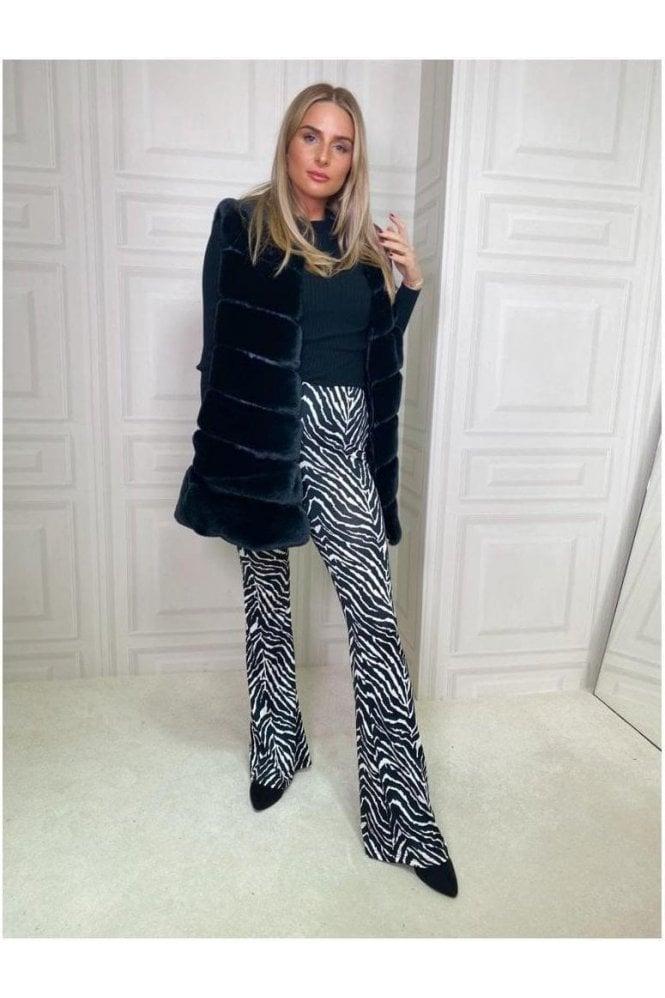 Edie Zebra Print Bottoms