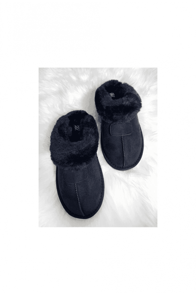 ELLA JILL SLIPPER BLACK