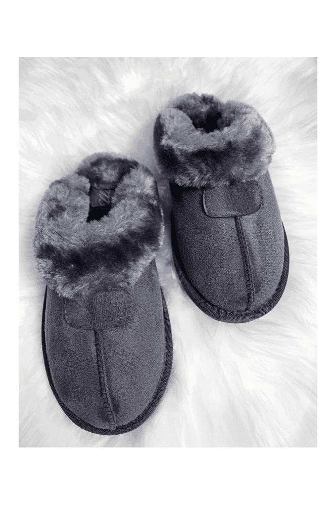 ELLA JILL SLIPPER GREY