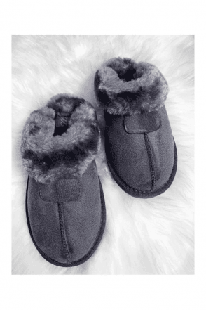 JILL SLIPPER GREY