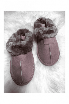 JILL SLIPPER MINK