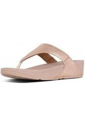 LULU  Leather Toe-Post Sandals