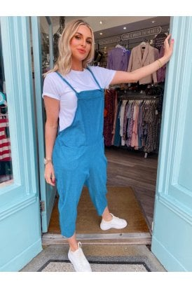 Frankie Denim Dungaree