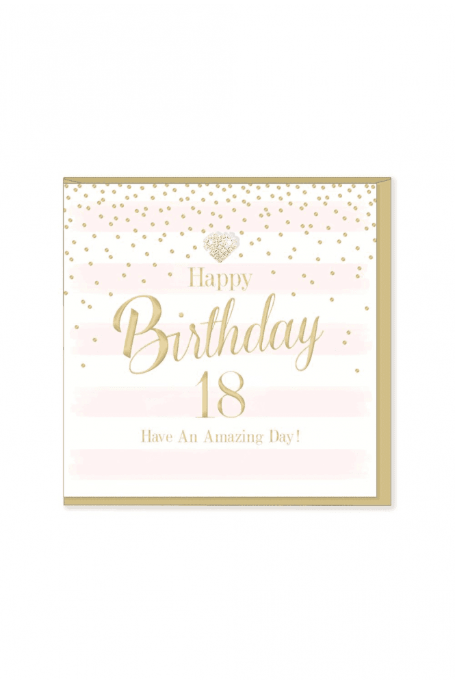 Gorgeous 18th Birthday Card