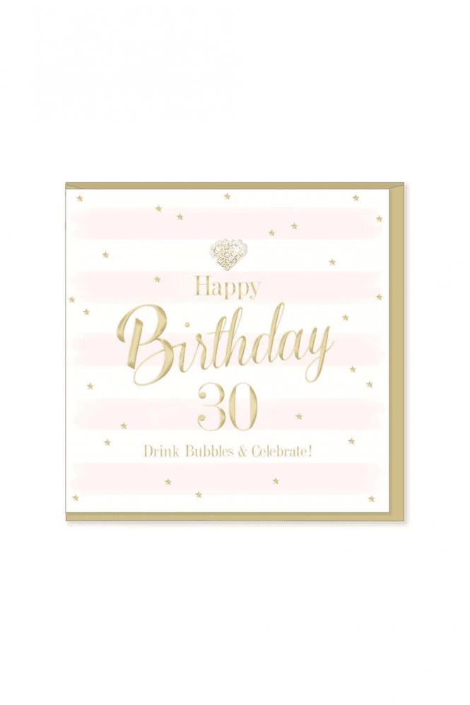 Gorgeous 30th Birthday Card