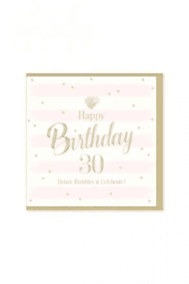 Gorgeous 30th Birthday Card