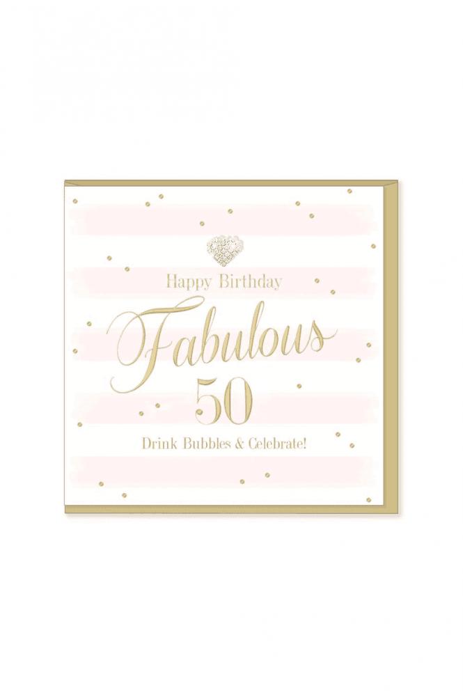 Gorgeous 50th Birthday Card