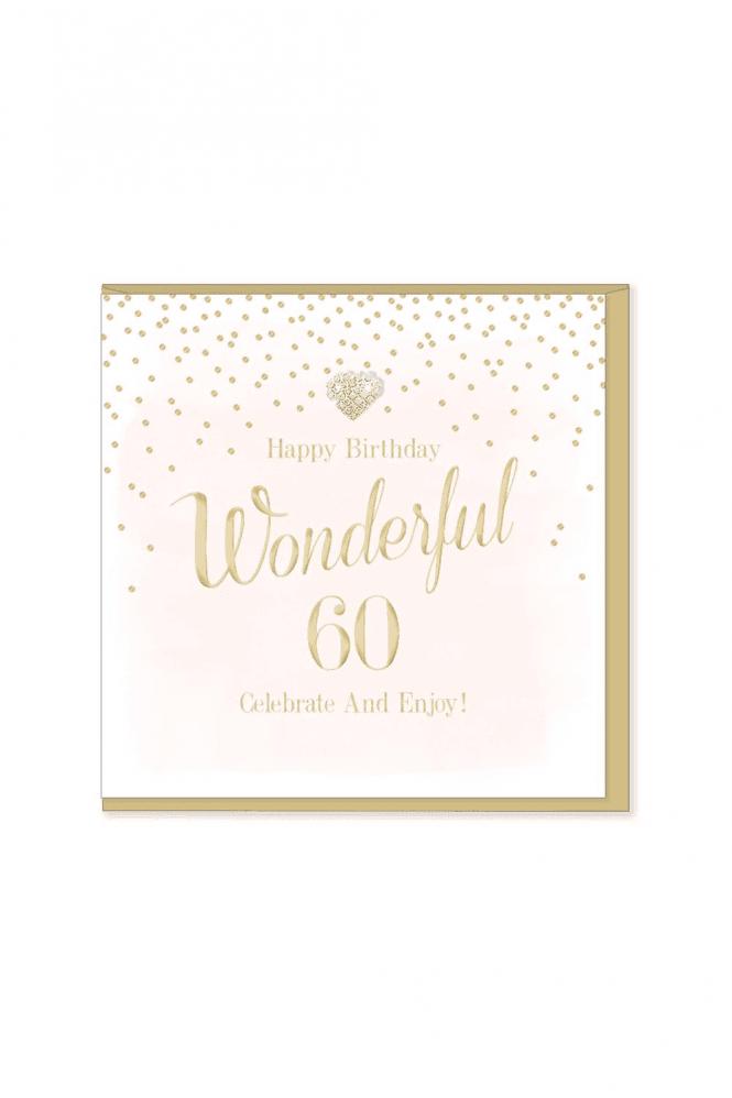 Gorgeous 60th Birthday Card