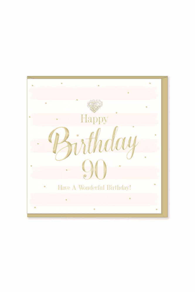 Gorgeous 90th Birthday Card