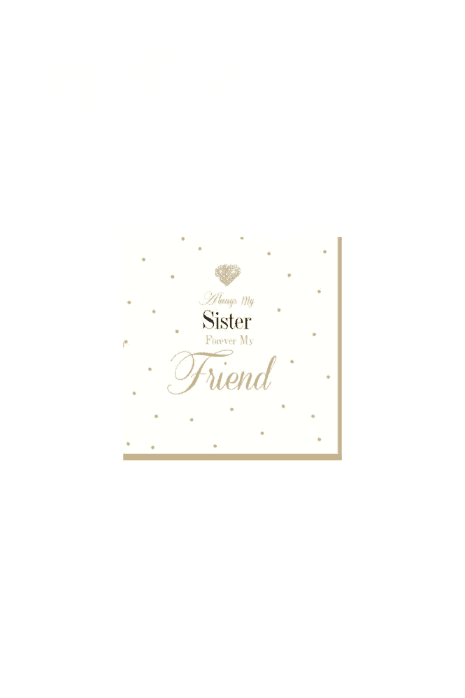 Gorgeous sister Card