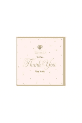 Gorgeous Thank You Card