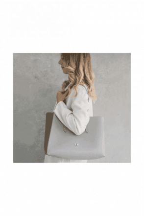 Grey Bee Tote Shoper