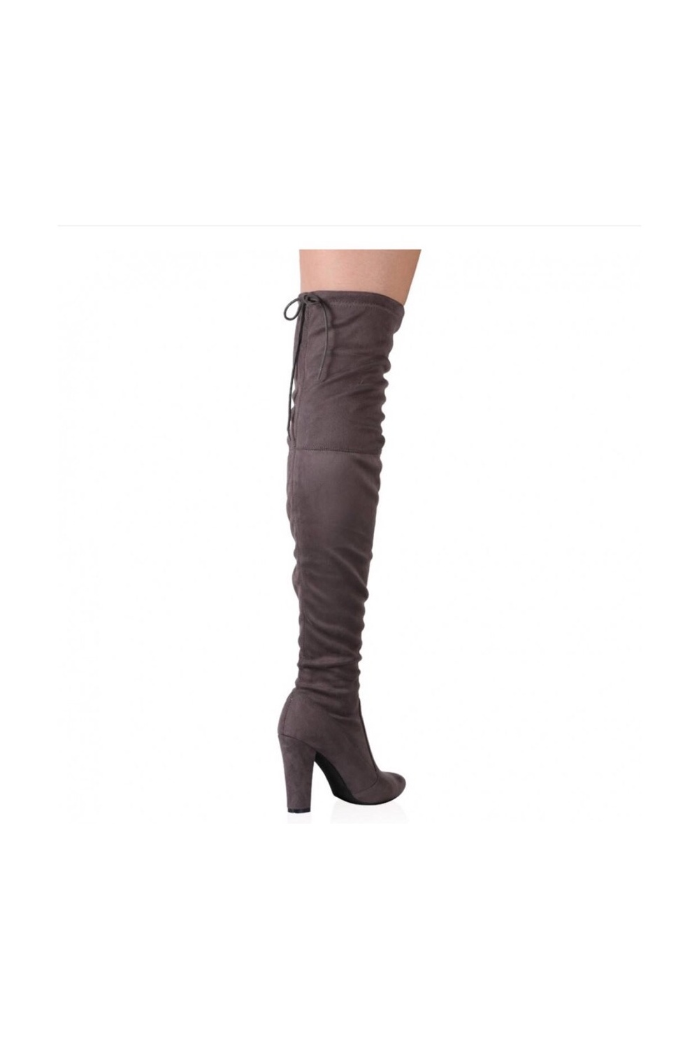Make a show stopping entrance with Dune London's new range of ladies over the knee boots. Wear with jeans for effortless style or pair with a skirt for the ultimate night out look. The new Winter essential, add a statement heeled pair or try the red boot trend or choose something timeless with thigh high black suede and sock boot styles.