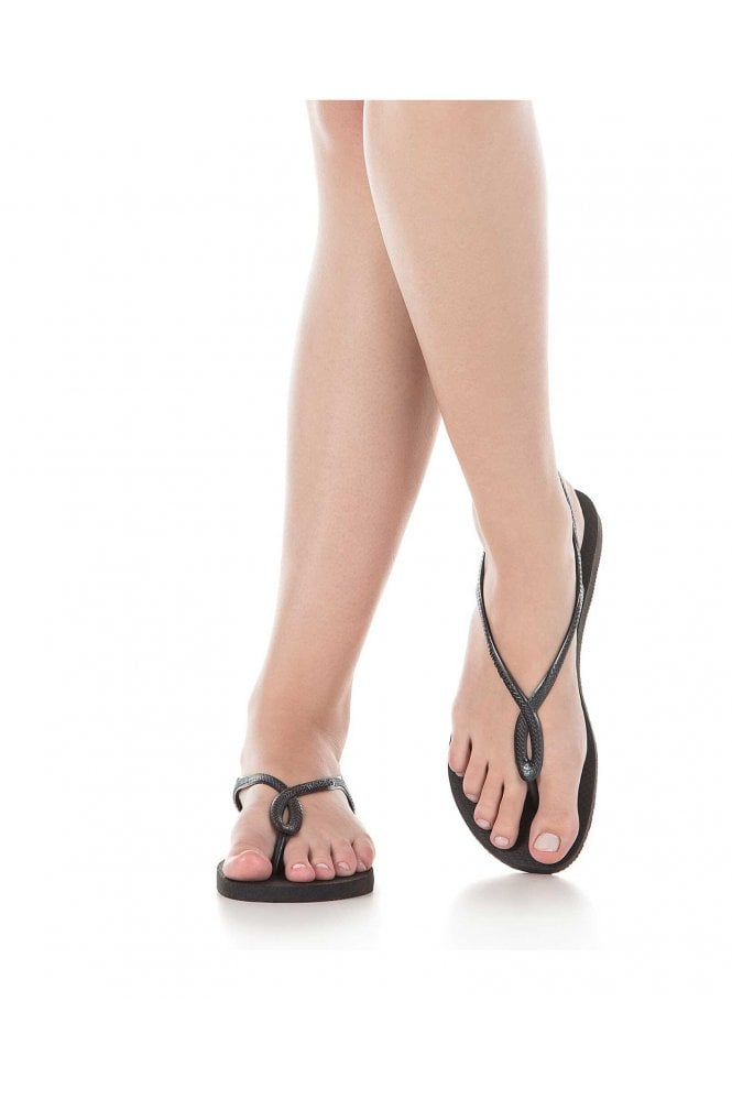 Havaianas Luna Flip Flops Black