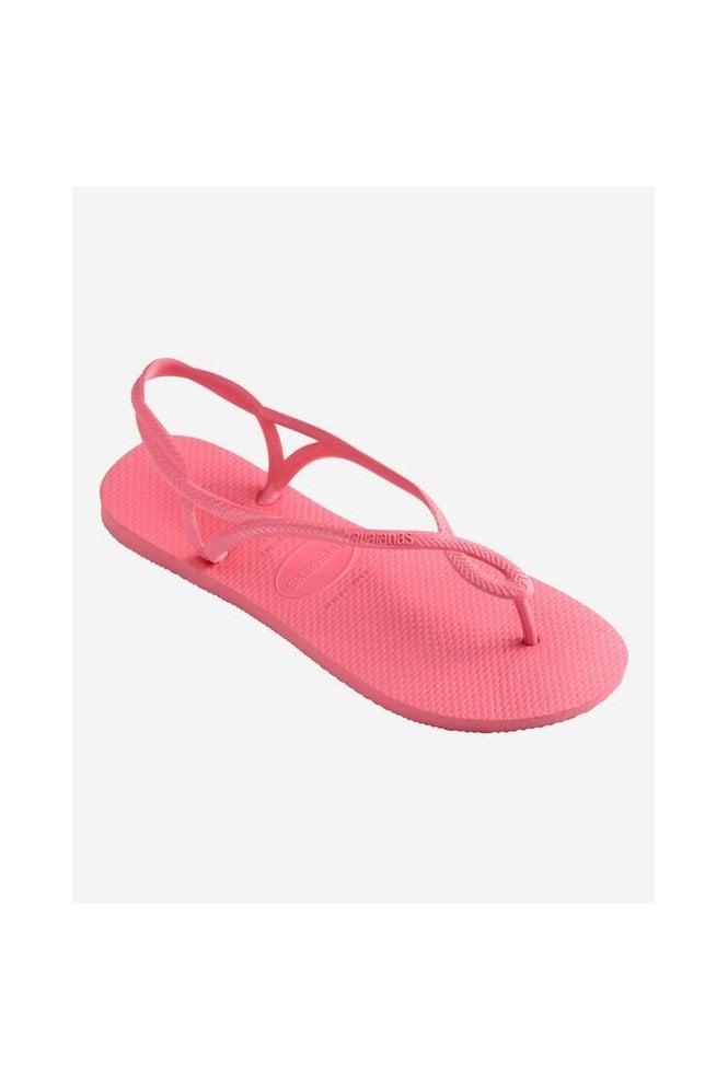 Havaianas Luna Flip Flops Pink