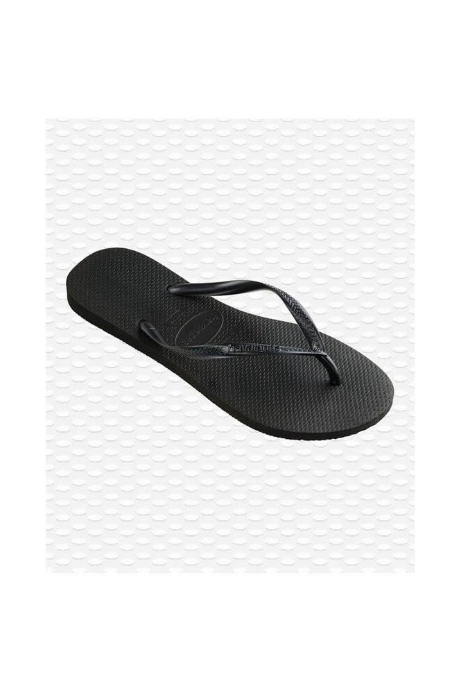 Havaianas Slim Flip Flops Black