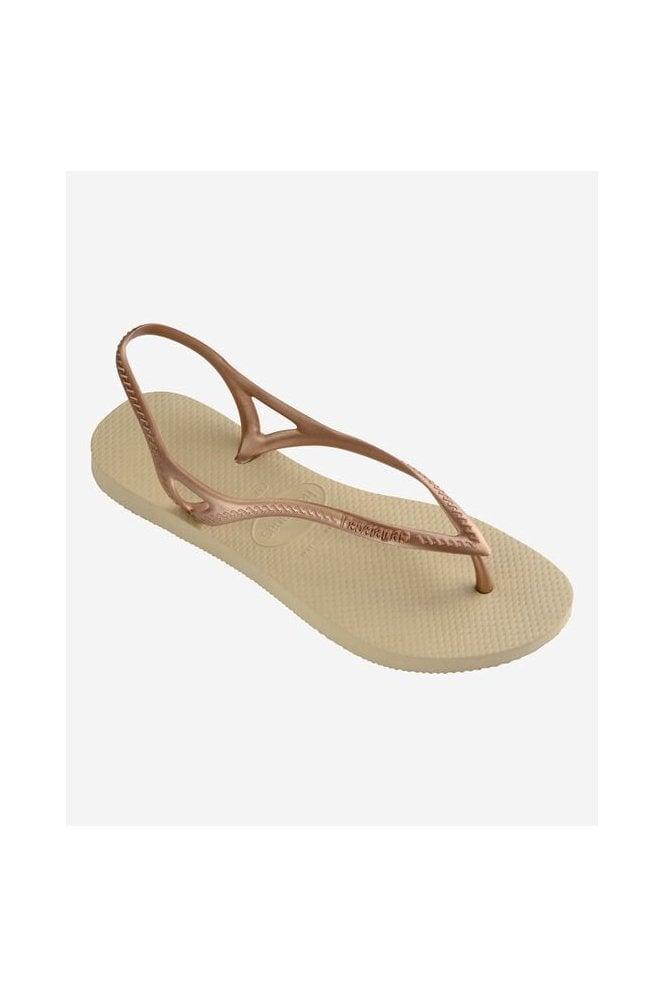 Havaianas Sunny Flip Flops Gold