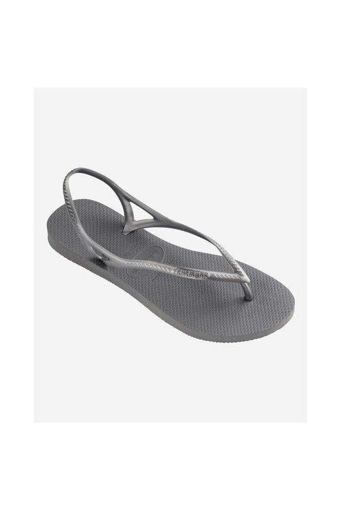 Havaianas Sunny Flip Flops Silver