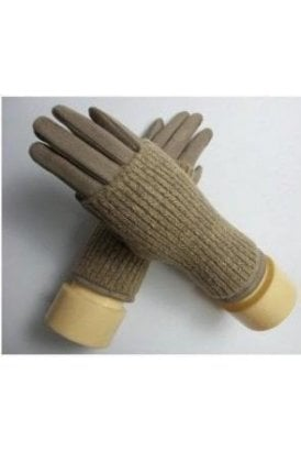 Knit Rib Glove   2 Colours Available