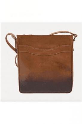 LEATHER Cherokee Zip Top Bag