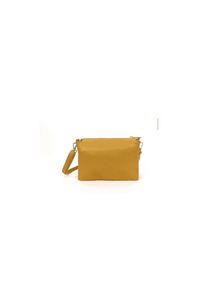 Leather Long Strap compartment Bag