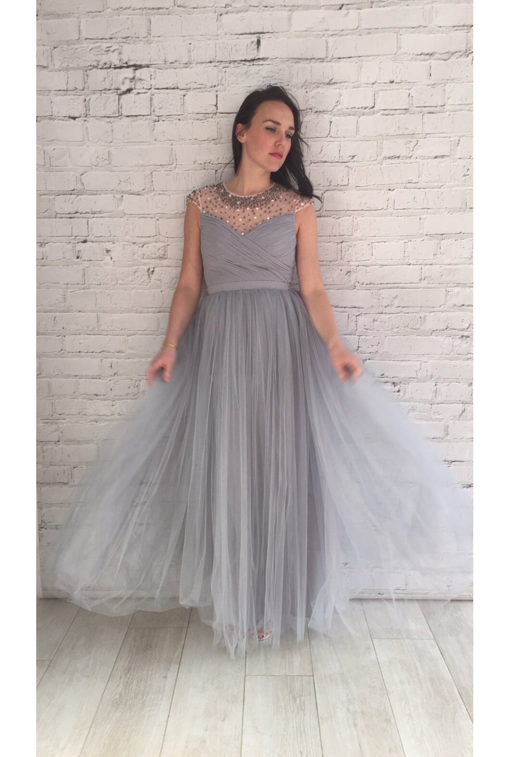 Maxi Dresses with Tulle