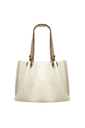 cream Corsetto Large Handbag