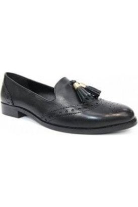 SALE Ravello Leather Brogue Loafer