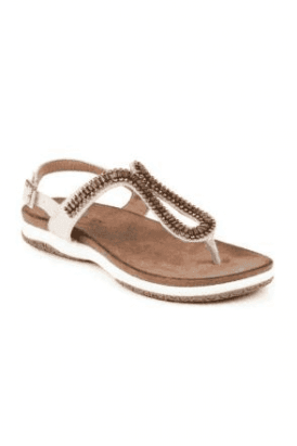 Stone Pascal Toe Post Sandal