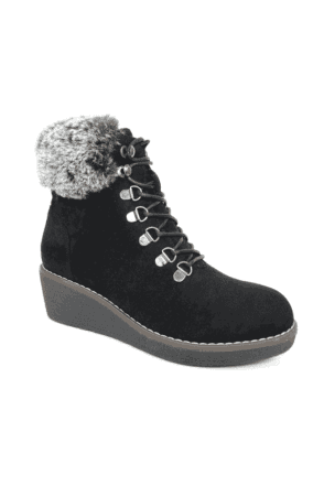 Windsor Lace Up Wedge Boot