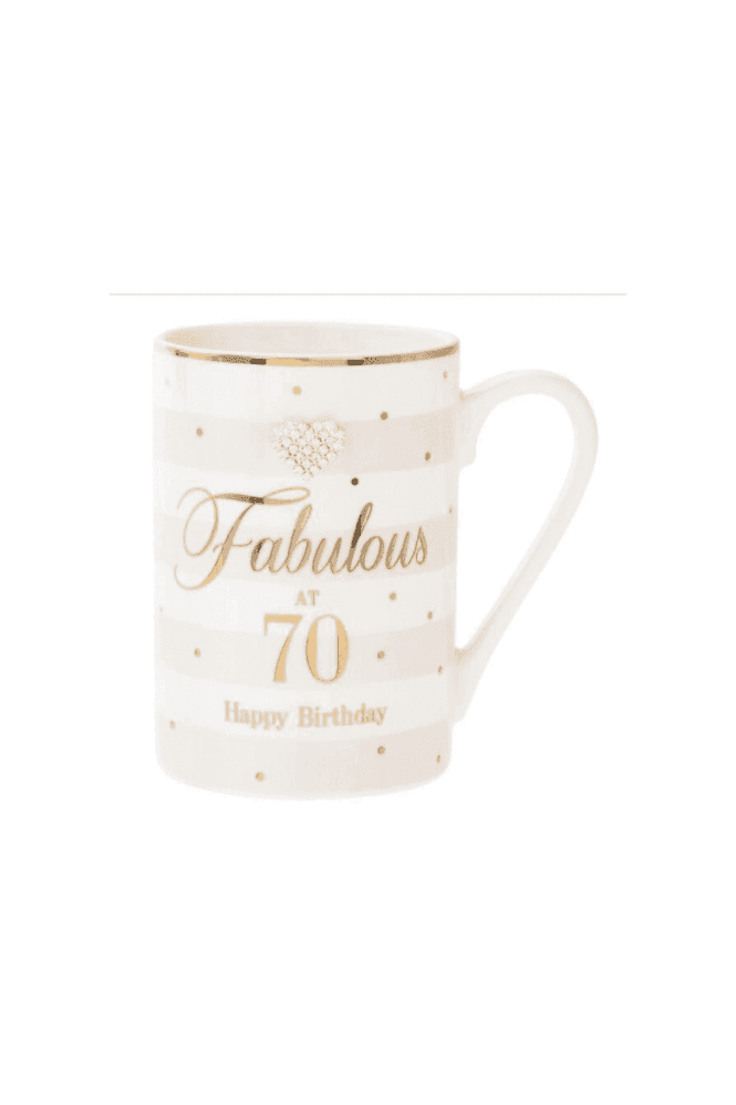MAD DOTS 70TH MUG