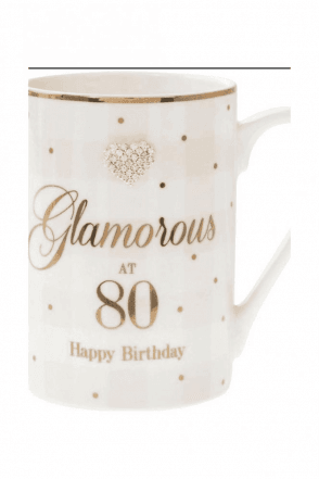 MAD DOTS 80TH MUG